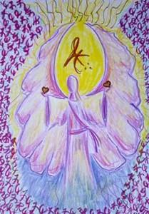Tammy Andersen angelic script Archangel Gabriel curative healing art