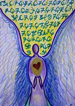 Tammy Andersen angelic script with Archangel Gabriel for healing