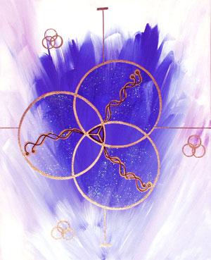 custom curative art for planetary energy alignment